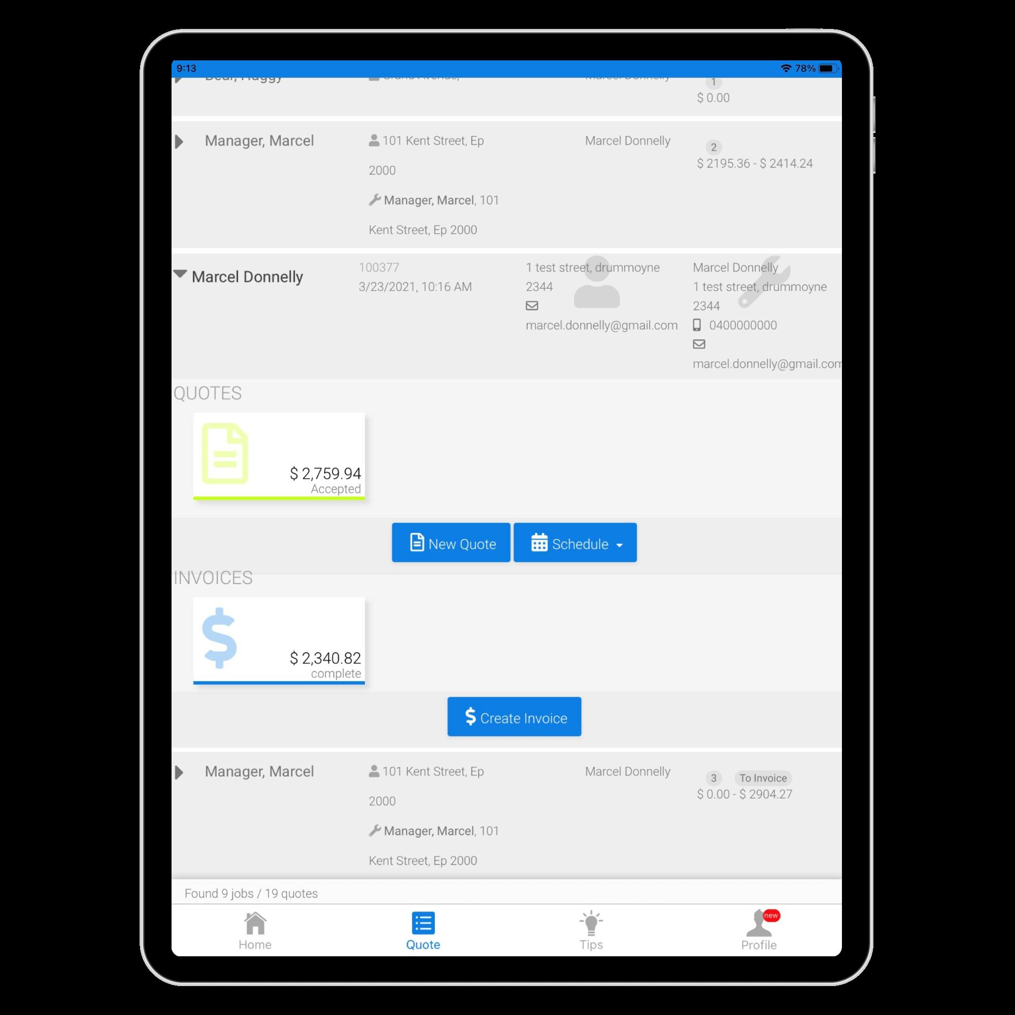 FlatRateNOW-iPad-Demo-Reduce-Admin